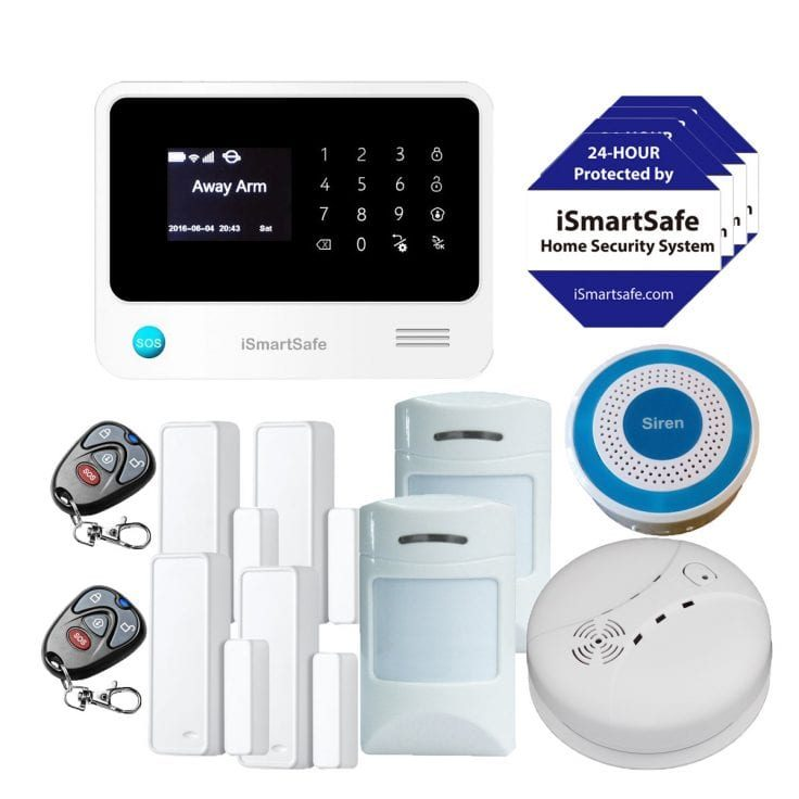 Wireless Home Security Systems Duplex Package
