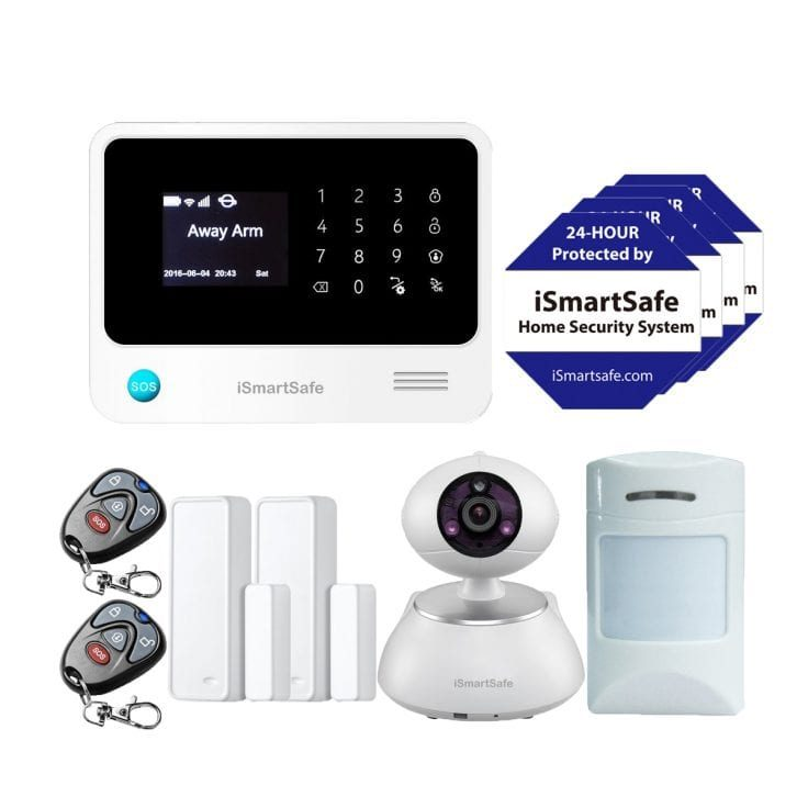 Wireless Home Security Systems - Economy Package