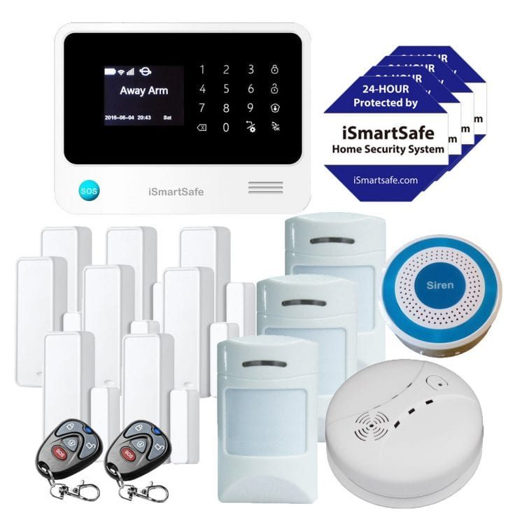 Wireless Home Security System Preferred Package
