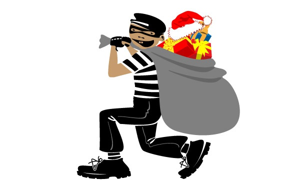 keep your home secure from Christmas burglars