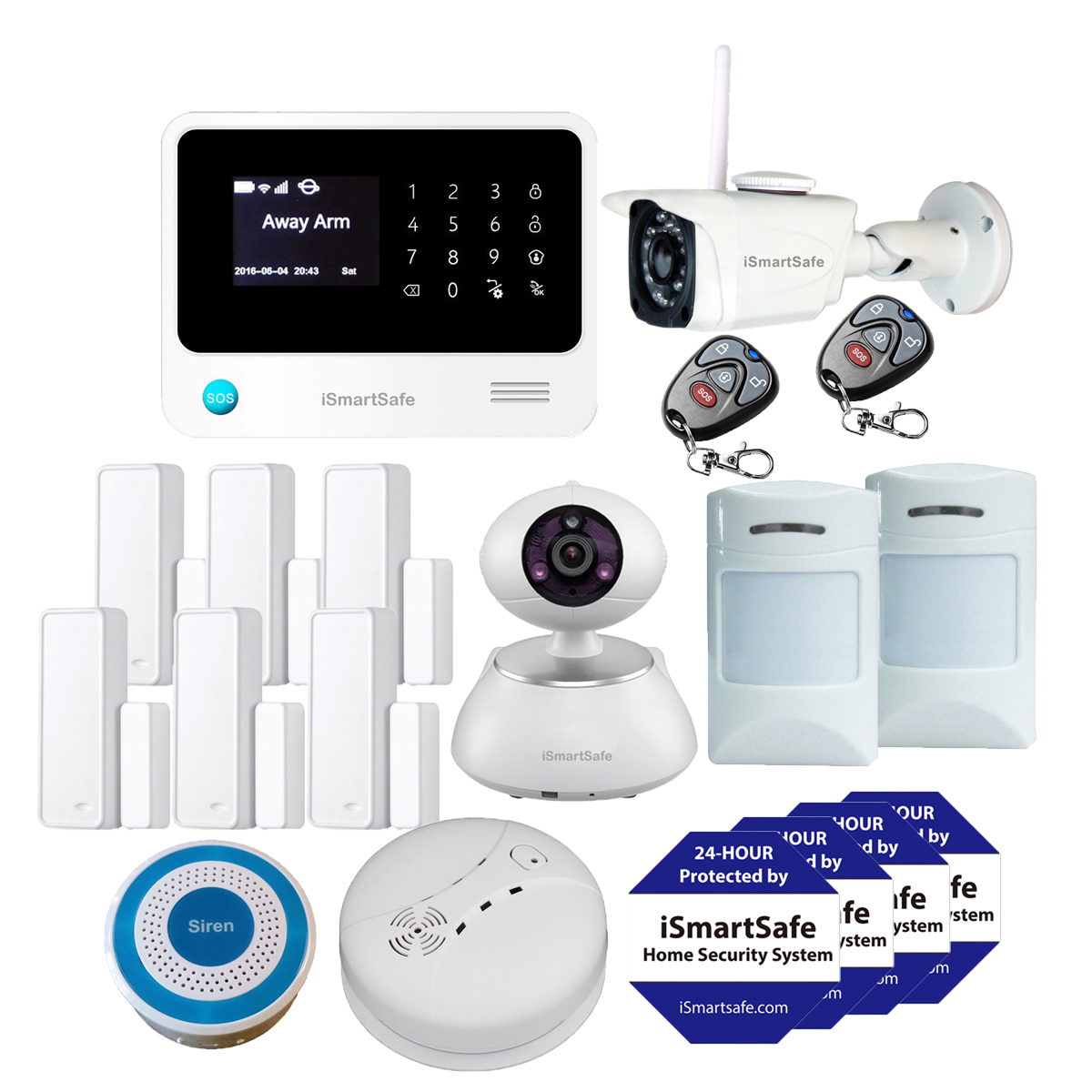 Burglar Alarm Systems Home Security Premium Package