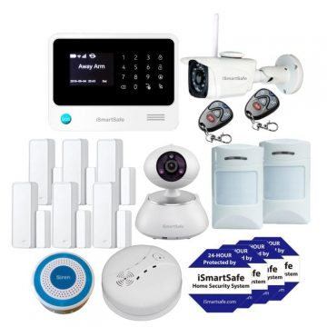Wireless Home Security Systems Premium Package