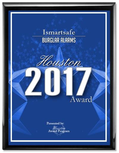 iSmartSafe Burglar Alarm Award