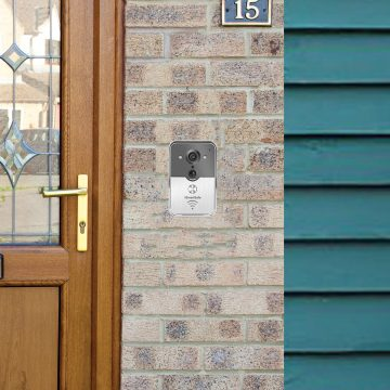 SmartSafe Doorbell at front door