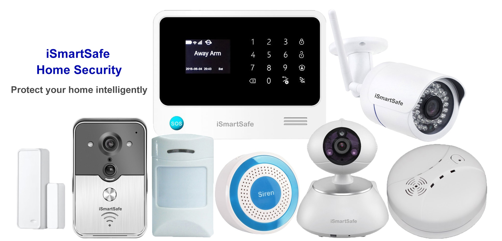 best diy home security systems video doorbell cameras ismartsafe. Black Bedroom Furniture Sets. Home Design Ideas