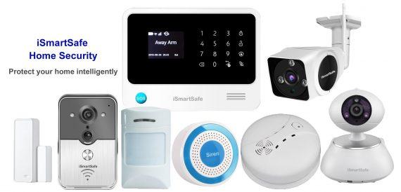 iSmartSafe Home Security Package