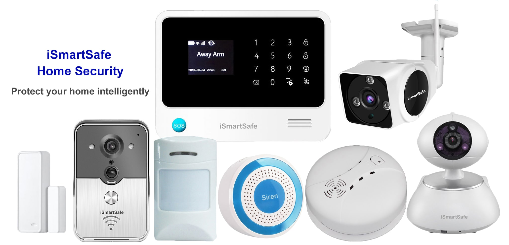 iSmartSafe Home Security Package